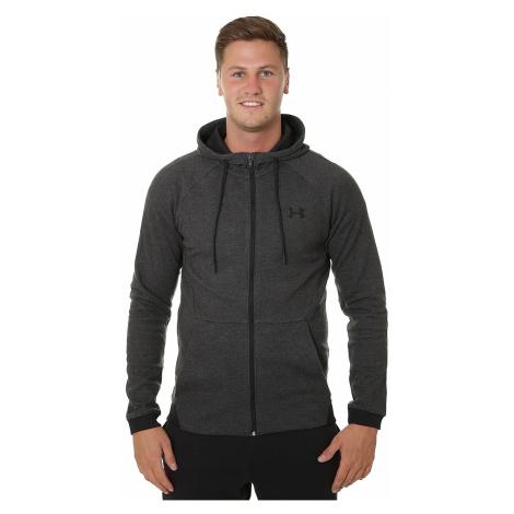 sweatshirt Under Armour Unstoppable 2X Knit Zip - 001/Black - men´s