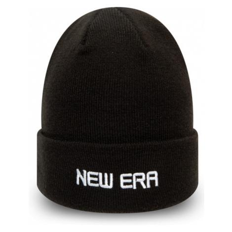 New Era ESSENTIAL CUFF KNIT black - Unisex winter beanie