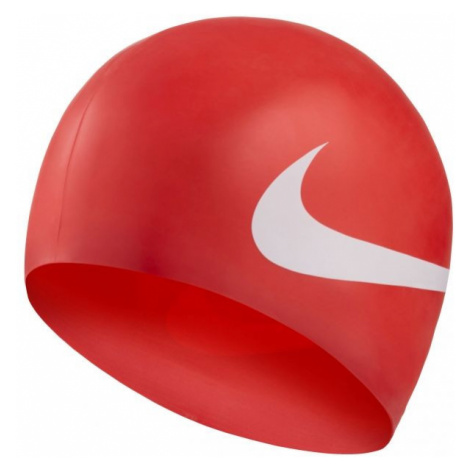 Nike BIG SWOOSH red - Swimming cap
