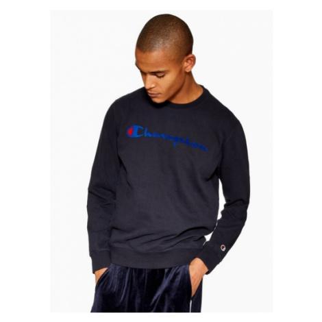 Mens Champion Navy Sweatshirt, Navy