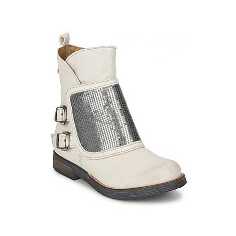 Dkode HERA women's Mid Boots in Beige