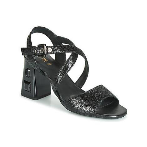 Geox D SEYLA S. HIGH PLUS women's Sandals in Black