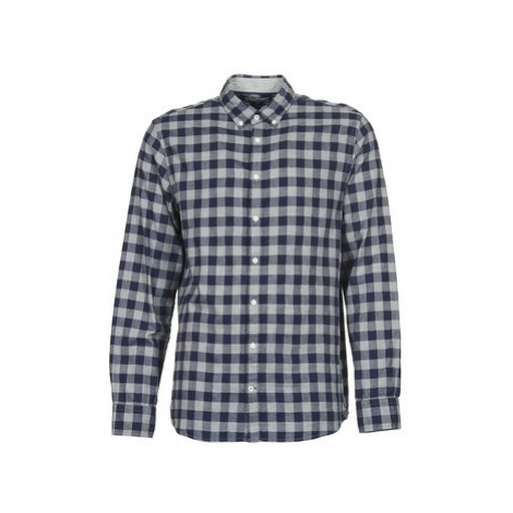 Tommy Hilfiger SHEA men's Long sleeved Shirt in Blue