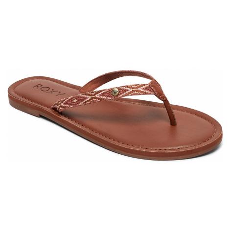 flip flops Roxy Janel - TAN/Tan - women´s