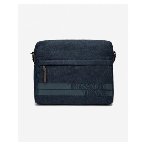 Trussardi Jeans Turati Denim Large Bag Blue