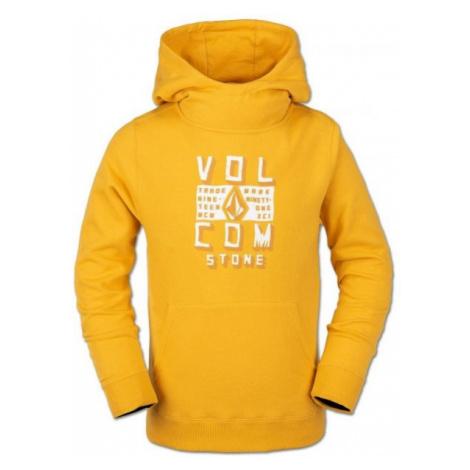Volcom HOTLAPPER FLEECE yellow - Children's hoodie