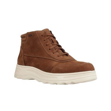 Geox D HOSM0S B ABX women's Mid Boots in Brown
