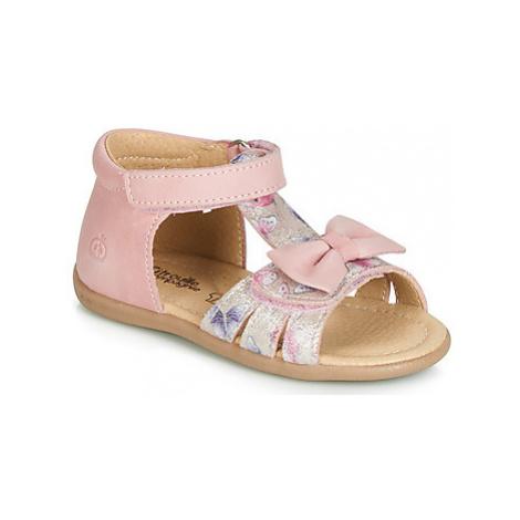 Citrouille et Compagnie JALILONE girls's Children's Sandals in Pink