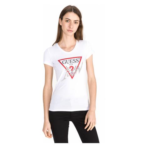 Guess Icon T-shirt White