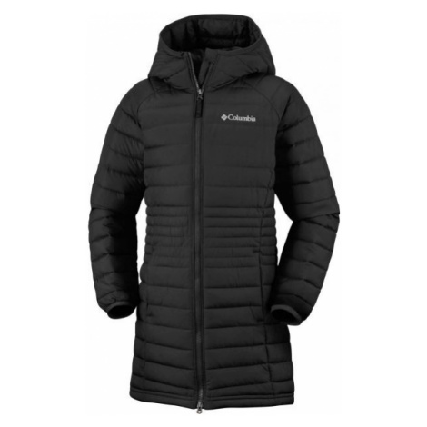 Columbia POWDER LITE GIRLS MID JACKET black - Girls' coat