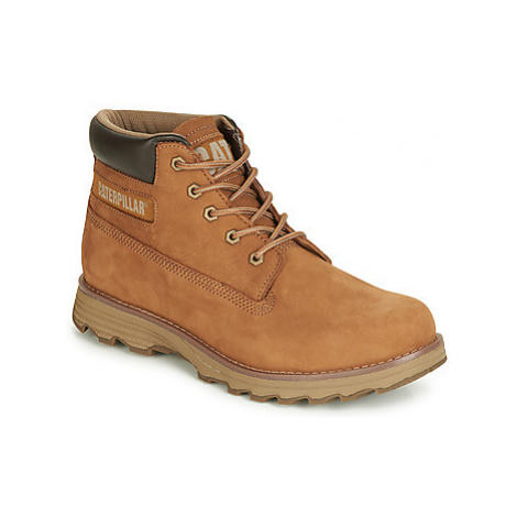 Caterpillar FOUNDER men's Mid Boots in Brown