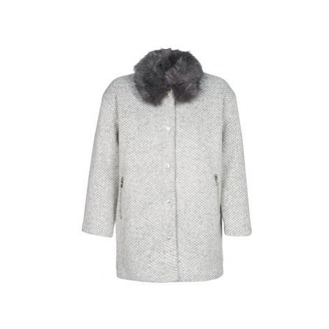 Le Temps des Cerises DUCHESSE women's Coat in Grey