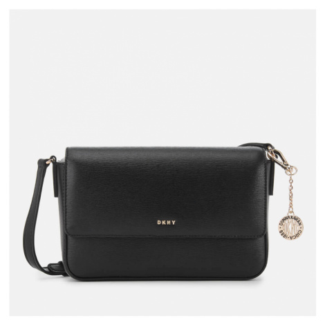 DKNY Women's Bryant Medium Flap Sutton Cross Body Bag - Black
