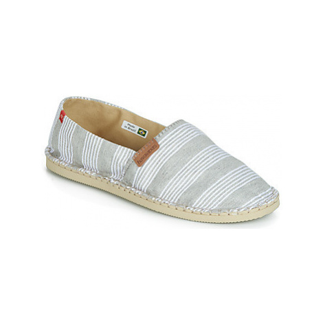 Havaianas ORIGINE STRIPES II women's Espadrilles / Casual Shoes in Grey