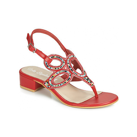 Lola Espeleta NAGNES women's Flip flops / Sandals (Shoes) in Red
