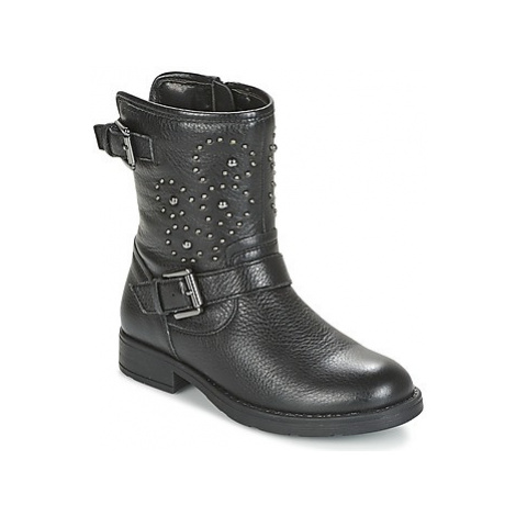 Geox SOFIA girls's Children's Mid Boots in Black