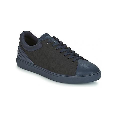 Emporio Armani NELLO men's Shoes (Trainers) in Blue