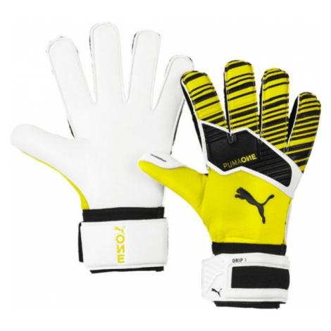 Puma ONE GRIP 1 RC yellow - Men's goalkeeper gloves