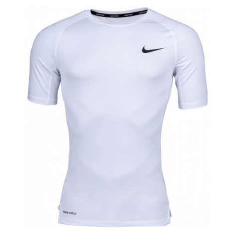 Nike NP TOP SS TIGHT M white - Men's T-shirt