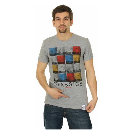 T-shirt Reebok Classic GR EC Mughshot - Medium Gray Heather