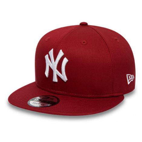 New Era 9FIFTY LEAGUE ESSENTIAL NEW YORK YANKEES red - Men's club baseball cap