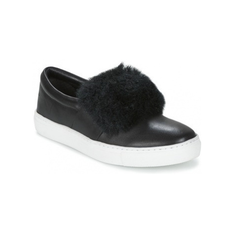 Les Tropéziennes par M Belarbi LEONE women's Slip-ons (Shoes) in Black