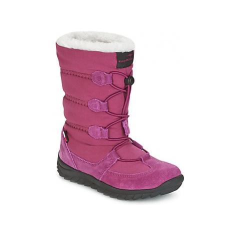 Kangaroos K-FROST women's Snow boots in Purple