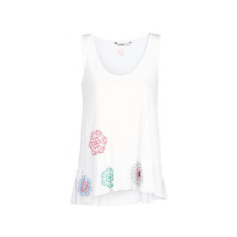 Desigual MELISA women's Vest top in White