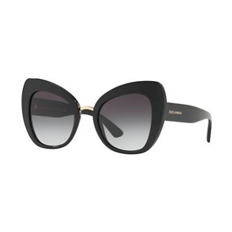 Dolce & Gabbana DG4319 Cat's Eye Sunglasses