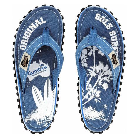 flip flops Gumbies Islander - Light Blue/Palm