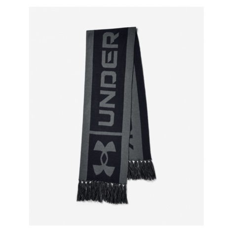 Under Armour Big Logo Scarf Black Grey