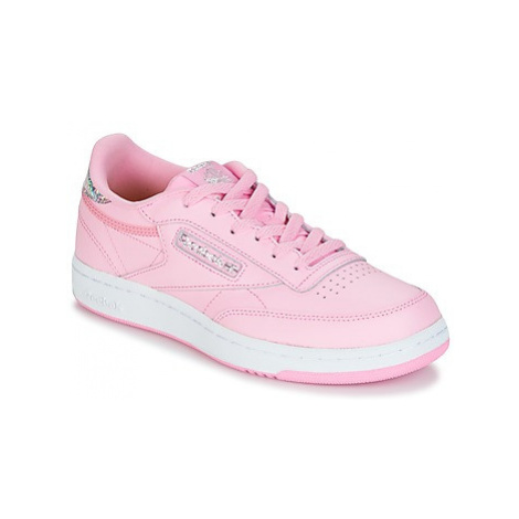 Reebok Classic CLUB C girls's Children's Shoes (Trainers) in Pink