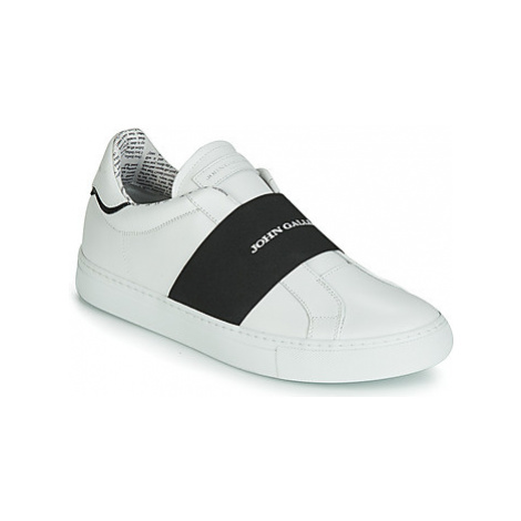John Galliano 6730 men's Slip-ons (Shoes) in White