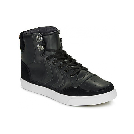 Hummel SLIMMER STADIL TONAL LOW women's Shoes (High-top Trainers) in Black