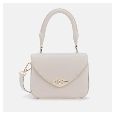 Furla Women's Eye Mini Top Handle Bag - Chalk