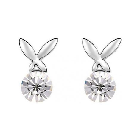 Blue Pearls GS 168 women's Earrings in White