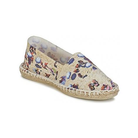 1789 Cala CLASSIQUE IMPRIMEE women's Espadrilles / Casual Shoes in Beige