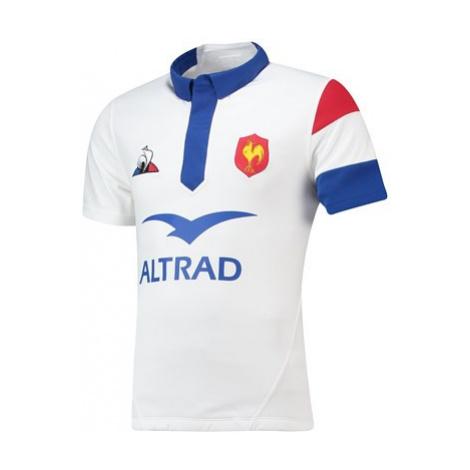 France Alternate Replica Jersey - Optical White - Mens Le Coq Sportif