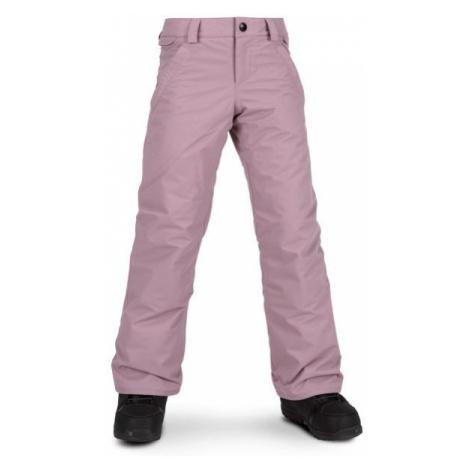 Volcom FROCHICKIDEE INS PNT pink - Girls' ski/snowboard pants