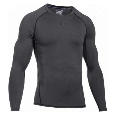 Under Armour HEAT ARM COMPR LONG gray - Men's Long Sleeve Compression Tee