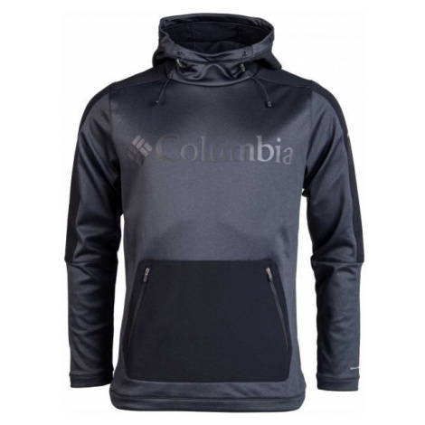 Columbia MAXTRAIL MIDLAYER TOP black - Men's outdoor sweatshirt