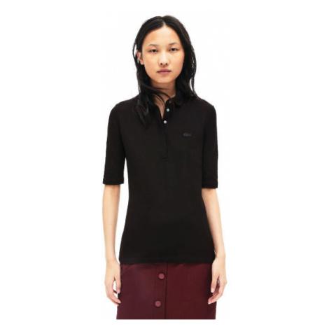 Lacoste S S/S BEST POLO black - Women's polo shirt