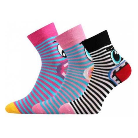 Voxx TLAMÍK black - Girls' socks