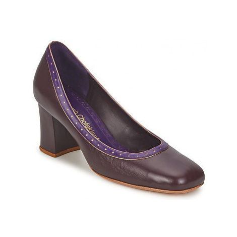 Sarah Chofakian SHOE HAT women's Court Shoes in Purple