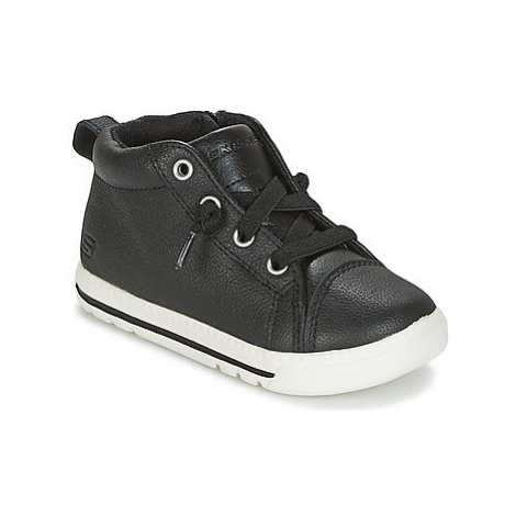 Skechers Lil lad girls's Children's Shoes (High-top Trainers) in Black