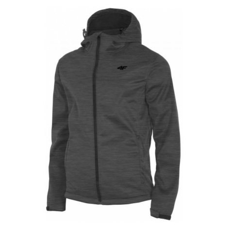 4F MENS SOFTSHELLS gray - Men's softshell jacket