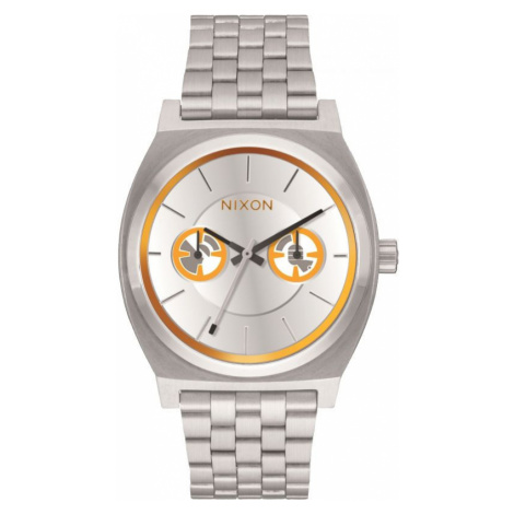 Unisex Nixon The Time Teller Deluxe SW BB-8 Silver / Watch