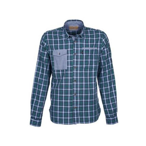 Chevignon CL NAVY DOUBLE men's Long sleeved Shirt in Green