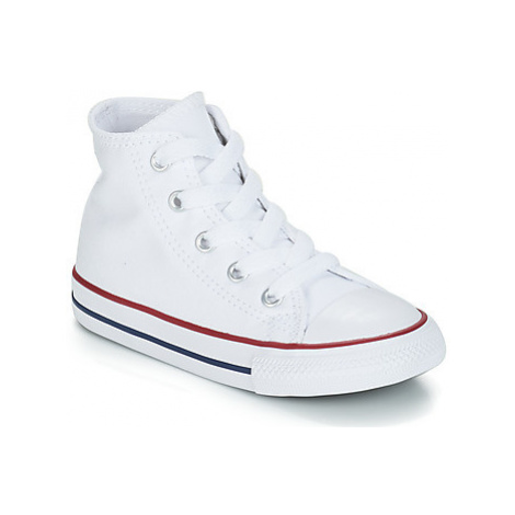 Converse ALL STAR HI girls's Children's Shoes (High-top Trainers) in White