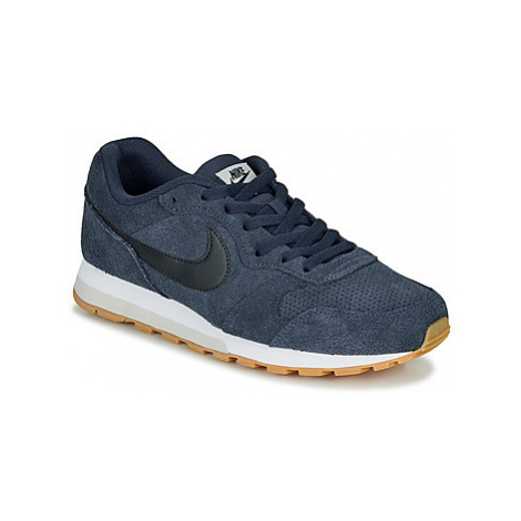 Nike MD RUNNER 2 SUEDE W men's Shoes (Trainers) in Blue